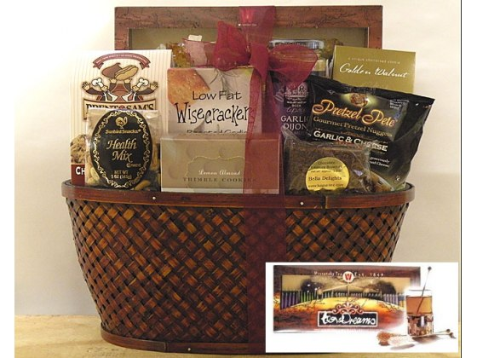 Tea & Dreams Kosher Gift Basket  (USA only)