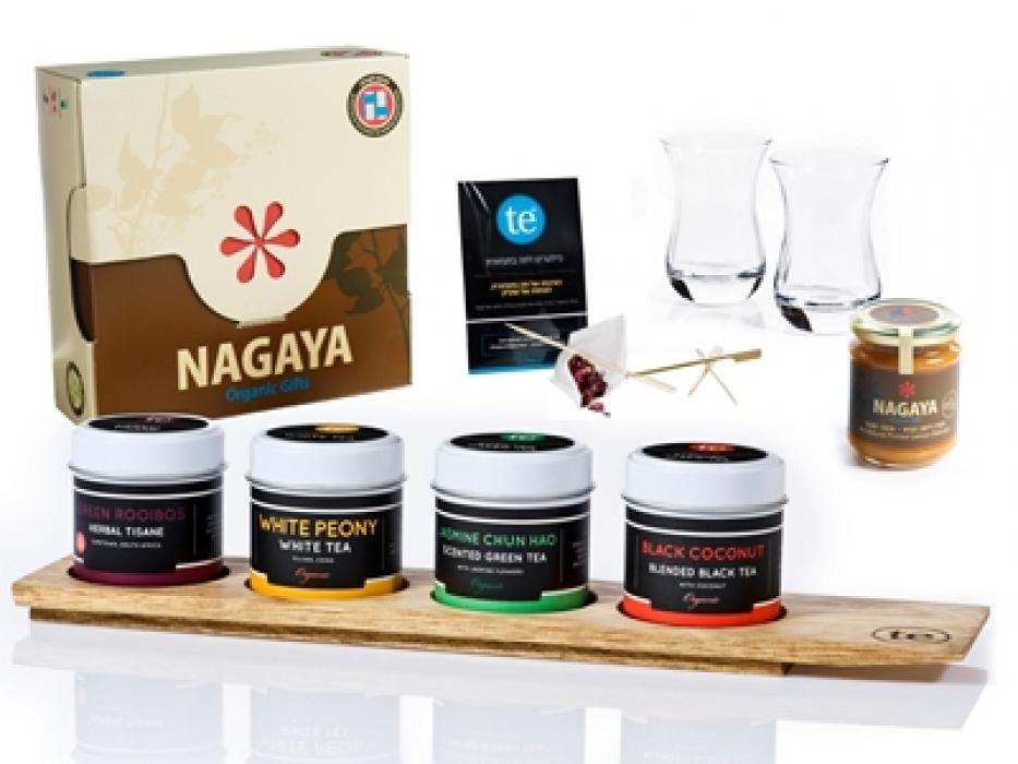 Tea & Honey Rosh Hashanah Gift Basket