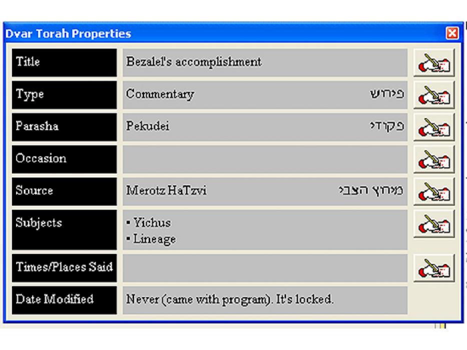 Torah Notebook - Divrei Torah Database - WIN CD 2010