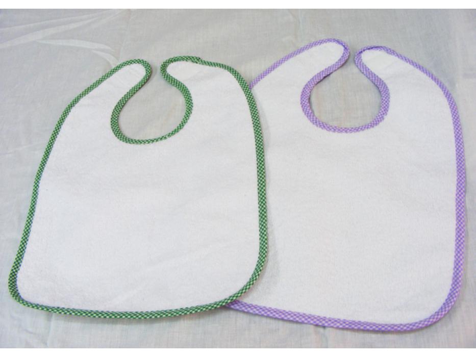 Towel front baby bib Pinat Eden