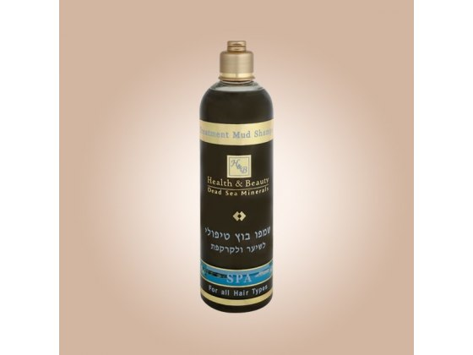 Treatment Dead Sea Mud Shampoo for Hair and Scalp