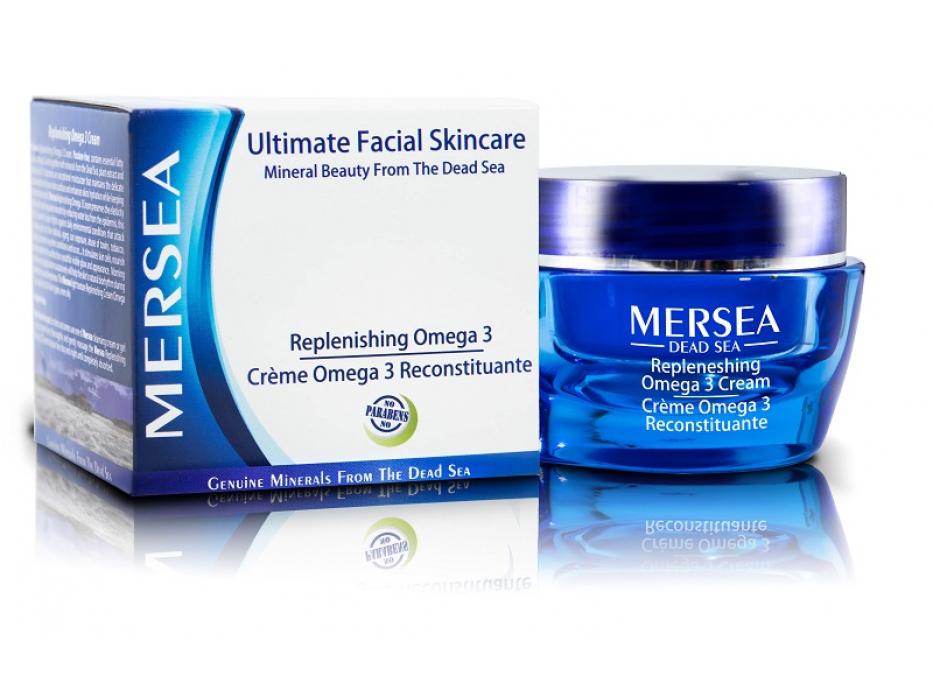Ultimate Replenishing Omega 3 Cream with Dead Sea Minerals