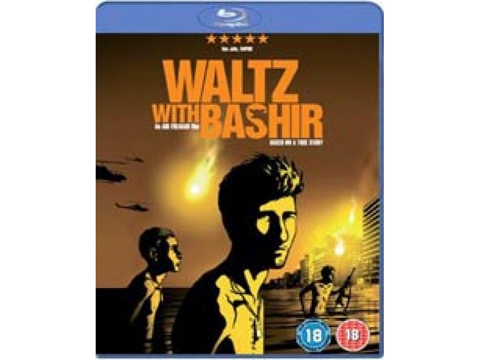 Waltz with Bashir (Vals Im Bashir) 2007 - DVD - Israeli Movie