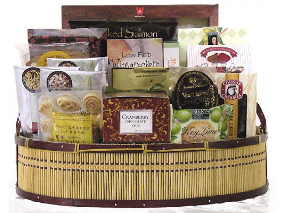 Warmest Wishes Basket-Kosher Gift Basket  (USA & Canada)