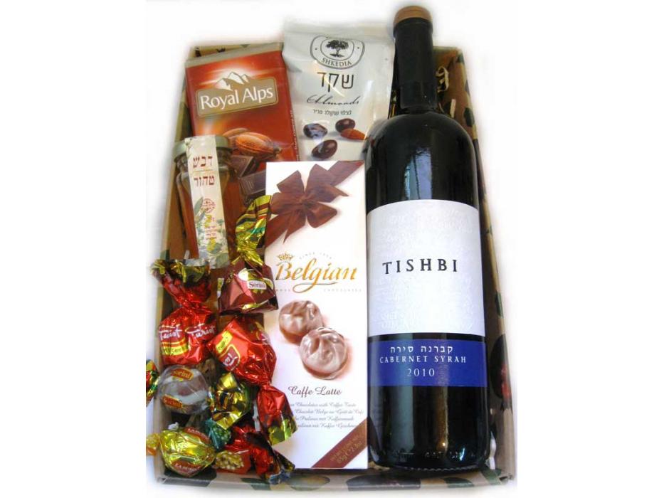 Wine and Sweets Rosh Hashanah Basket