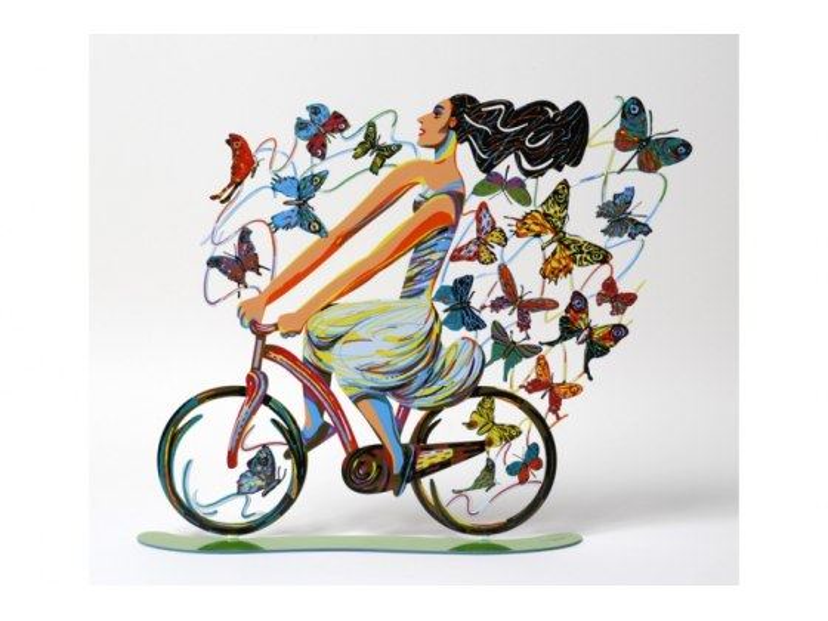 David Gerstein Rider In Euphoria Israeli Art