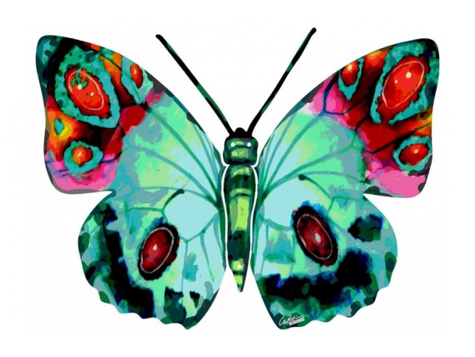 David Gerstein Naomi Butterfly Israeli Art