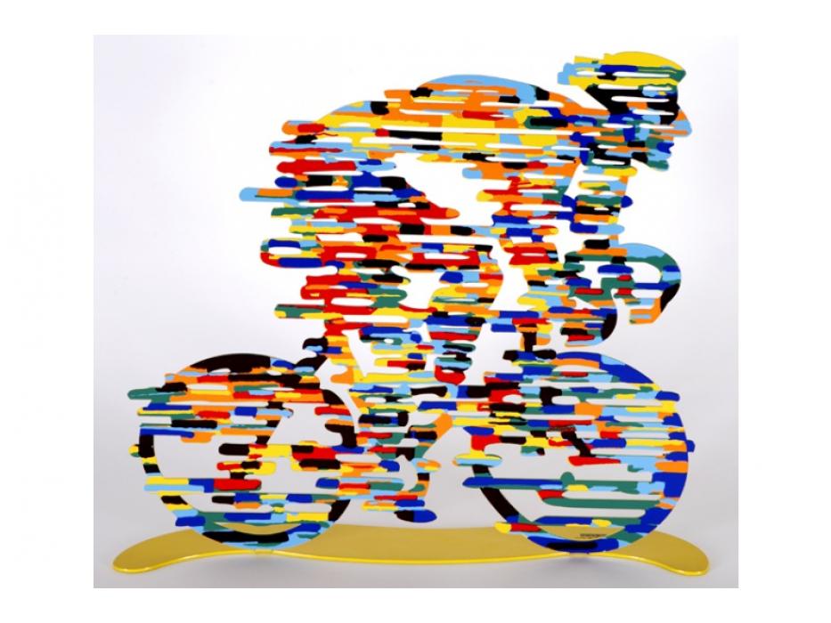 David Gerstein Lance Armstrong Israeli Art