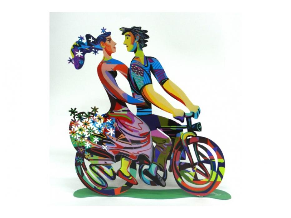 David Gerstein - Colorful Spring Ride - Israeli Art