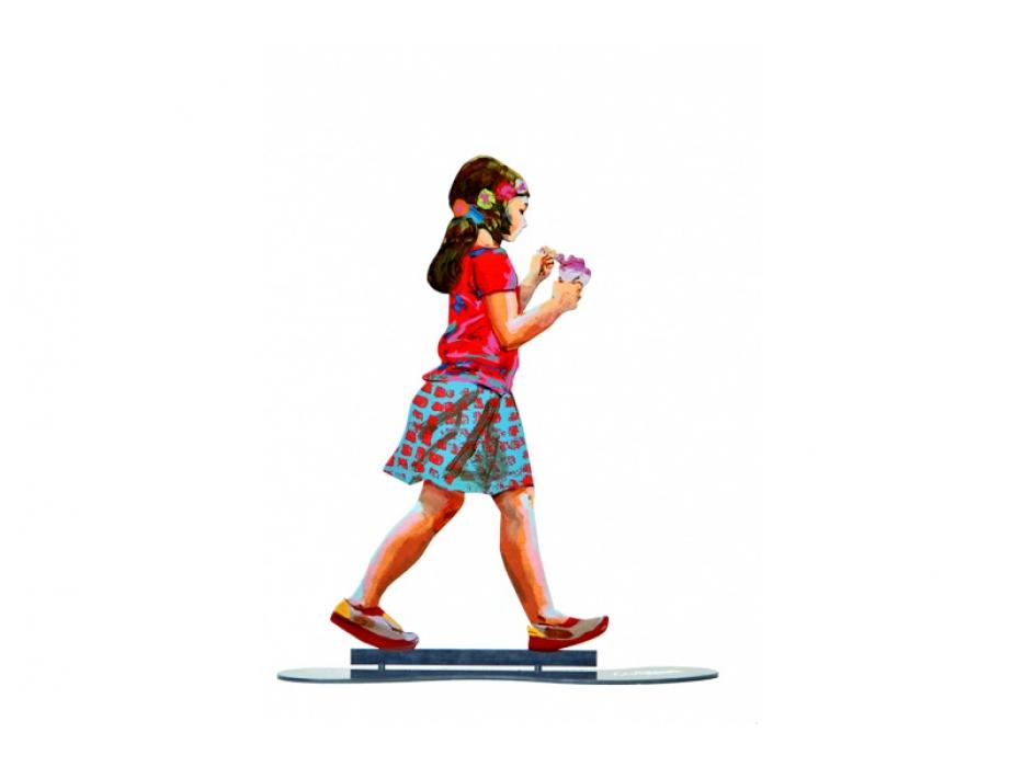 David Gerstein Sculpture Ice Cream Girl