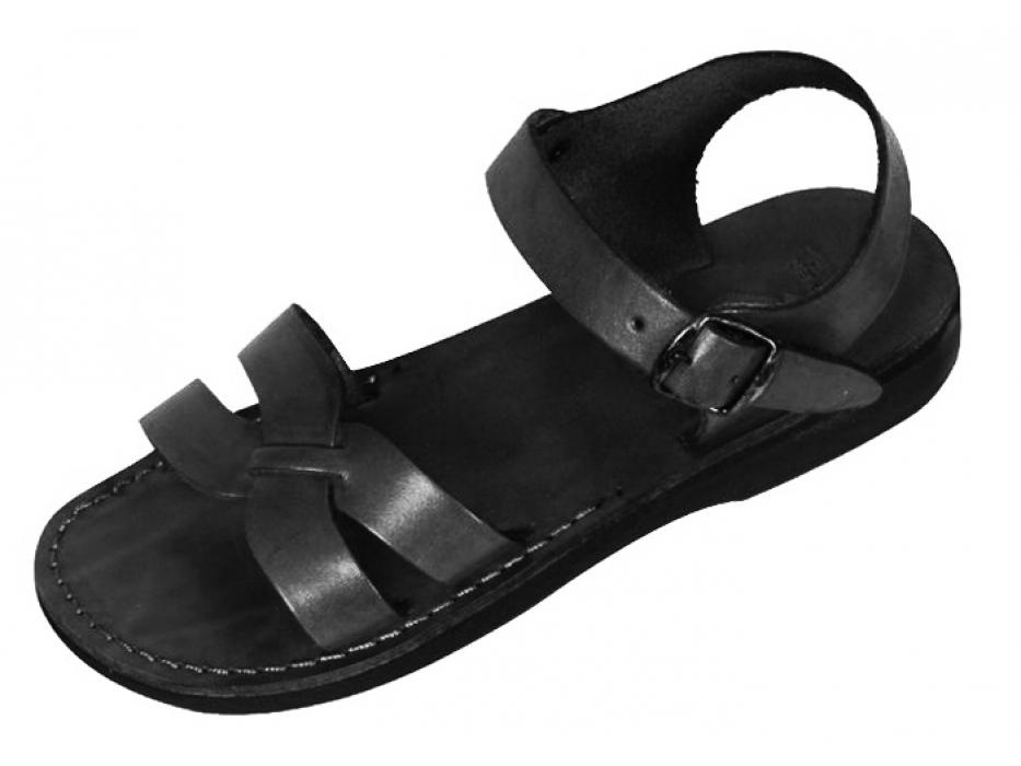 X-Strap Front Adjustable Handmade Leather Biblical Sandals - David