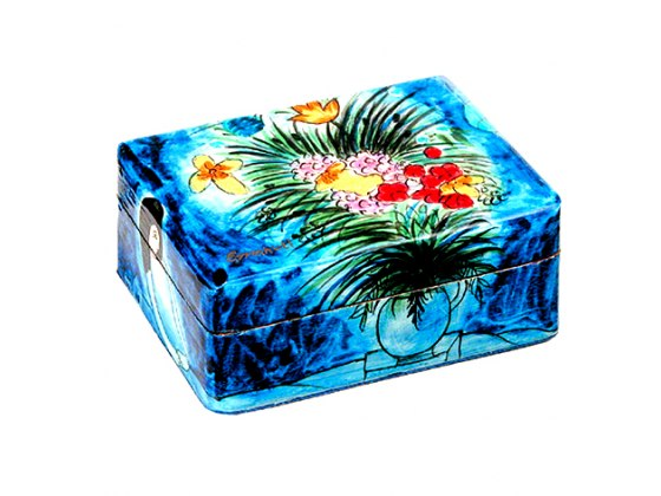 Yair Emanuel Shabbat Travel Candlestick Box Oriental