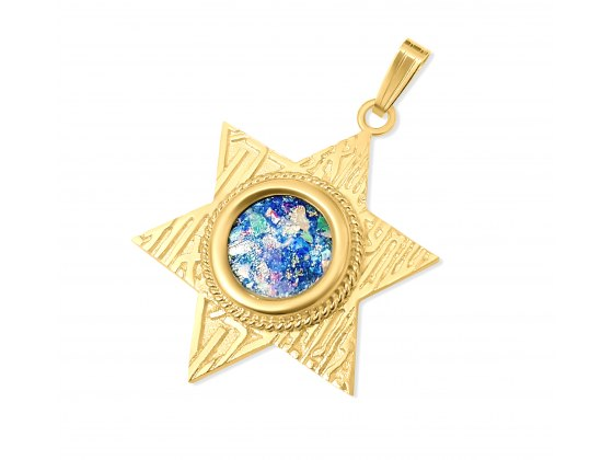 Gold Star of David Necklaces