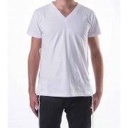 Tallit Katan V Neck Tzitzit T Shirt with Sleeves