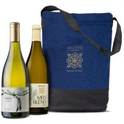 Duo Recanati Wine set Olive Oil and Honey Gift Set