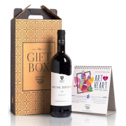 Wine and Calendar Gift Box
