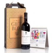 Wine and Calendar Gift Box