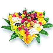 Heart Shape Fruit Basket