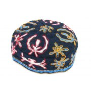 Colorful Bucharian Kippah