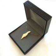 14K Gold, Land of Israel Necklace