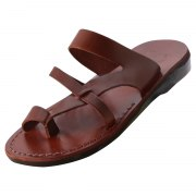 Toe Strap Flip Flop Handmade Leather Sandals - Alon