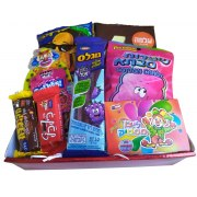 Strictly Kosher Colorful Snacks Basket