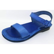 Classic Single Narrow Strap Biblical Leather Sandals - Joshua