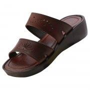 Leather Double Strap Platform Biblical Sandals - Ortal