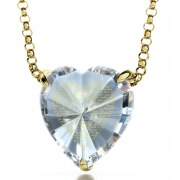 24k Gold Plated Thank You Mom with Cubic Zirconia Crystal Clear