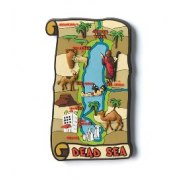 3 Dimentional Colorful Dead Sea Scroll Magnet