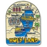 3 Dimentional Colorful Holy Land Magnet