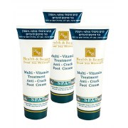 3 for price of 2! Multi-Vitamin Foot Cream, 3 x 180 ml Dead Sea Minerals