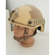 Desert Tan Light Fast Bulletproof Ballistic Helmet Level IIIA
