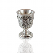 Sterling Silver Yeled Tov, Kiddush Cup