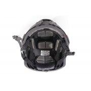 Black Light Fast Bullet Proof Ballistic Helmet Level IIIA