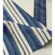 Talitania Carmel Wool Tallit Prayer Shawl with Blue Stripes