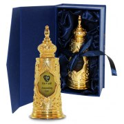 Gold Torah Shaped Bottle with Anointing Oil (27 ml)