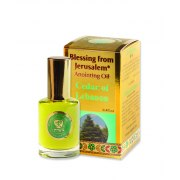 Blessing from Jerusalem Gold Anointing Oil Cedar of Lebanon (12 ml)