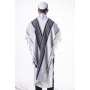 Traditional Yemenite Mishkan Hatchelet Tallit Prayer Shawl