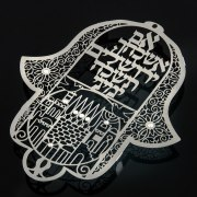Dorit Judaica Wall Hanging Forget Thee Oh Jerusalem