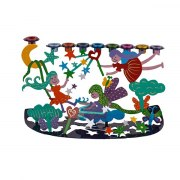 Emanuel Judaica Kids Menorah Lazer Cut Fairies
