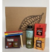 Taste of Israel Purim Box With Olive Oil Tahini And Tomato Spread
