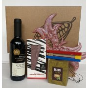 Taste of Israel Purim Gift Box With Wine Zaatar Tahini And Chocolate