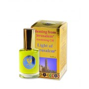 Light of Jerusalem Gold line Anointing Oil  (12 ml)