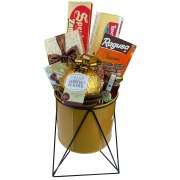 New Year Gold Year Gift Basket