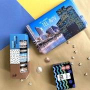 Taste of Israel New Year Gift Box Sea And Sun Of Tel Aviv