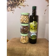 Nuts and Olive Oil Gift Basket