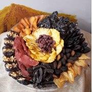 Premium Sugar Free Dried Fruit Flower Tray