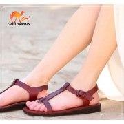 Single Strap Front Adjustable Handmade Leather Biblical Sandals - Shani