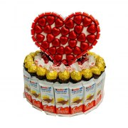Flame of Love Gift Basket